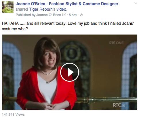 Joanne O Brien Costume Designer